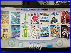 (2) Black Nintendo Wii Bundle 200+ Games See Desc GameCube N64 NES Retro