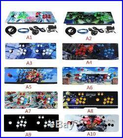 2019 Pandoras Box 135 3D Video game Machine 2448 Retro Arcade Game Console