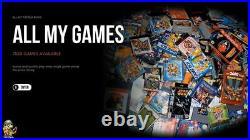 2021 Retro Arcade Gaming Console Raspberry Pi 4 256GB Read Description 7500+