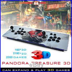 2350 Games Pandora's Box Treasure 3D+ Arcade Console Home Machine Retro HDMI