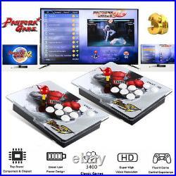 3400 in 1 Pandora-s Games Retro Split Video Game Console HDMI VGA For PC Desktop