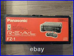 3DO REAL FZ-1 Console System Panasonic Retro game Boxed Controller manual Japan