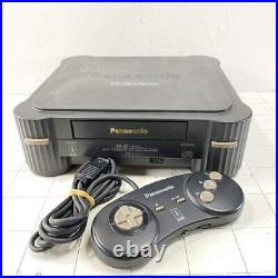 3DO REAL FZ-1 Console System Panasonic Retro game withController TESTED NO BOX NM