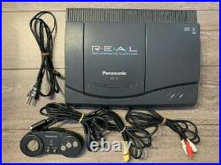 3DO REAL FZ-10 Console System Panasonic Retro game console Used Tested Japan