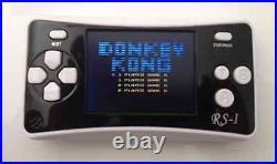 8-Bit Retro 2.5 COLOR LCD 150+ Video Games Portable Handheld Console (BLACK)