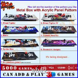 8000 Games 3D Pandora Box Double Sticks Retro Arcade Console Machine Video Games