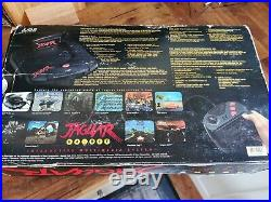 ATARI Jaguar Game Console, Boxed with Genuine PSU, AV lead and Controller Retro