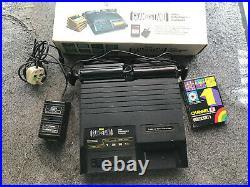 Adman Grandstand Fairchild Channel F retro video game console boxed working