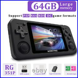 Anbernic RG351P 64 Bit Retro Video Game Console RK3326 64G Open Source System