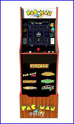 Arcade 1up Pacman Special Edition Arcade1up Retro Cabinet Pac Man 7 Games In One