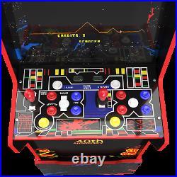 Arcade1up Legacy Defender 12 Games Riser Light Up Marquee Retro Arcade Cabinet