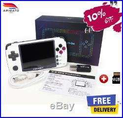 Bittboy PocketGo V2 Retro Video Game Handheld console Gameboy PS1 Emulator +8GB
