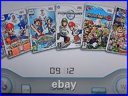 Black Nintendo Wii Console 1TB Hard Drive Retro Emulators Game 32GB SD