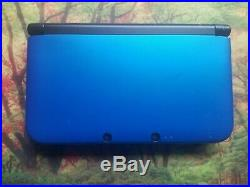 Blue Nintendo 3DS XL with 2500+ Games. ULTIMATE RETRO GAMING SYSTEM