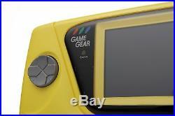 Brand New Sega Game Gear Console HGG-3212 Tested Japan Retro Yellow NIB MINT