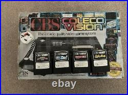 CBS ColecoVision Gaming Console with Games Retro Collectible