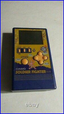 Casio CG-86 Retro/Vintage Soldier Fighter Game Consol JAPAN
