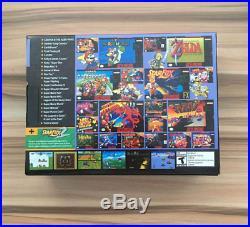 Classic Games Console Mini Retro Nintendo Built-In 21 Games Controllers