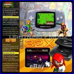 Classic Retro Games Console 144GB HDMI Arcade Machine- 11,000+