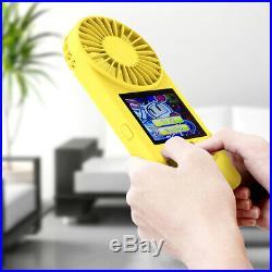 Console Portatile Videogioco 500 Giochi Schermo Colori Retro' Game Ventilatore