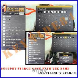 Double Sticks Pandora's Box 3D 8000 Games Separable Retro Arcade Console Machine