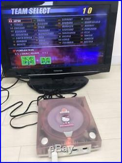 Dreamcast DC HELLO KITTY PINK Game machine only Retro games Rare goods japan