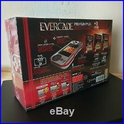 Evercade retro handheld PREMIUM console -New & Sealed (37 games) 3 Cartridges