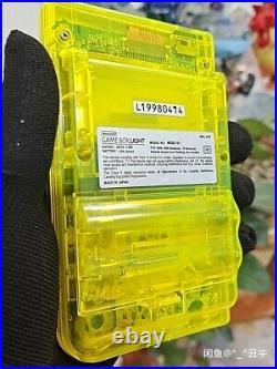 Game Boy Light pokemon pikachu translucent yellow retro future