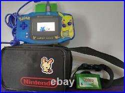 Gameboy advance nintendo retro gba backlit backlight screen Pokemon & games
