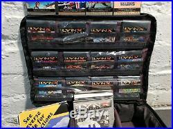 HUGE Atari Lynx Lot 16 GAMES Console Plus Accessories Great Retro