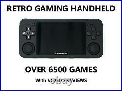 Handheld RETRO Games Console RG351P Portable Arcade 6500+ Games UK Seller