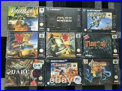 Huge Boxed Nintendo 64 Games collection. 42 boxed games. Very Rare Retro Gaming