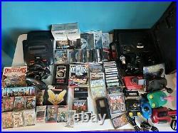 Huge Retro Gaming Bundle Mega Drive C64 Spectrum Amiga Nintendo Sega 50+ Games