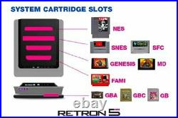 Hyperkin Retron 5 Konsole Special Edition X 2 Gamepad´s Nes Famicom Sega Retro