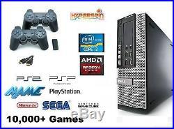 Hyperspin Retro Games PC/CONSOLE 2TB Intel i5 HDMI plug&play 10,000+