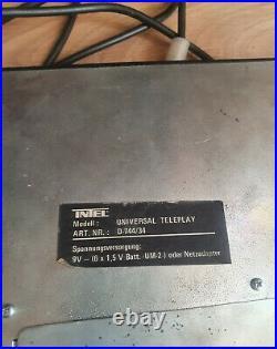 Intel Universal Teleplay D-744/34 Retro TV Video Game 1979