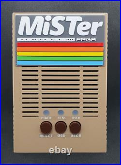 MiSTer Complete System FPGA DE10-Nano Retro Games C64 Commodore 64 Style
