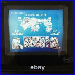 NEC PC Engine GT CONSOLE TurboExpress PI-TG6 retro game vintage 1990 Gray
