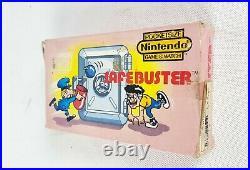 NEW Nintendo SafeBuster JB-63 Game & Watch MultiScreen Retro Japan 1988 G&W