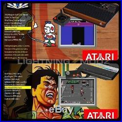 NEWSUPERFAST-Classic Retro Games Console, Arcade Machine 300GB 12K TITLES HDMI