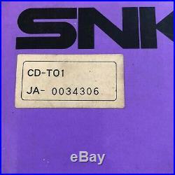 Neo Geo CD Console & Games Bundle Japan JPN Boxed & Complete SNK Retro