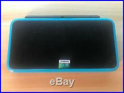 Nintendo 2ds XL Black/Blue modded CFW 3ds Games + Retro Emu's