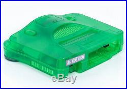Nintendo 64 N64 Retro Jungle Green Game Console & Controller Bundle! PAL