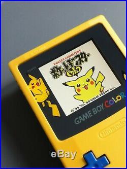 Nintendo Game Boy Color Pokémon GBC Backlight LCD IPS V2 rétro éclairée