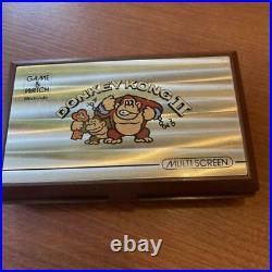 Nintendo Game & Watch Donkey Kong 2 Multi Screen retro console Vintage Rare Used