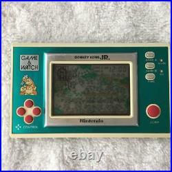 Nintendo Game & Watch Donkey Kong Jr DJ-101 Japanese retro console Vintage Rare