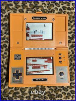 Nintendo Game & Watch Donkey Kong Multi Screen retro console DK52