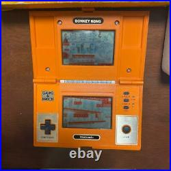 Nintendo Game & Watch Donkey Kong Multi Screen retro console Vintage Rare With Box