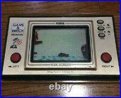 Nintendo Game & Watch Popeye wide Japanese retro handheld system console Rare JP