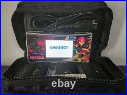 Nintendo Gameboy Micro bundle retro Metroid With 4 star wars And Metroid games